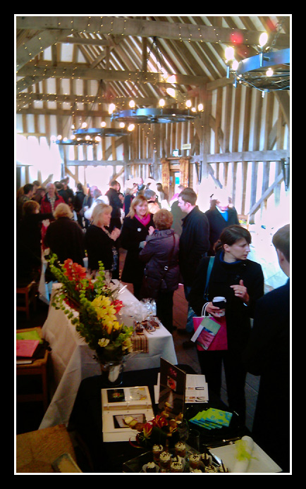 clients at Gate Street Barn open day
