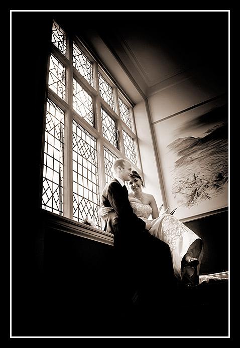wedding photo of Ben & Bryony 1