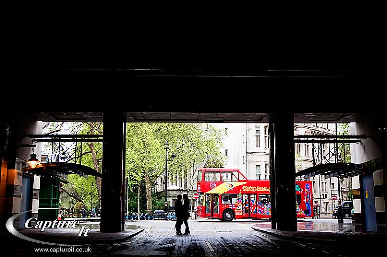Central London engagement photograph 3