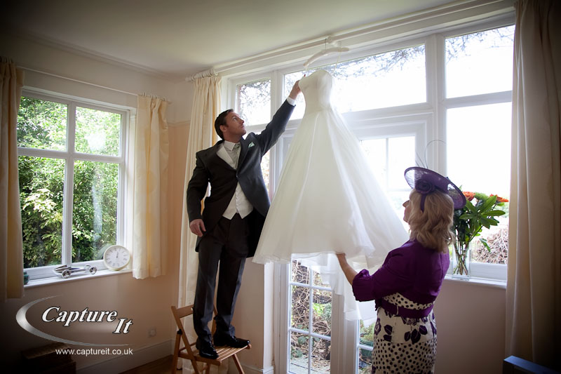 Clandon Park, Surrey wedding photograph 3