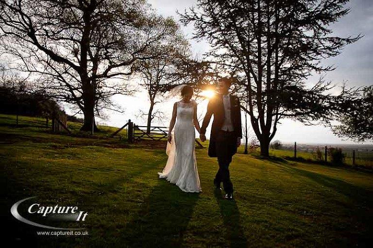Sassi Holford Wedding Dress, Coombe Lodge
