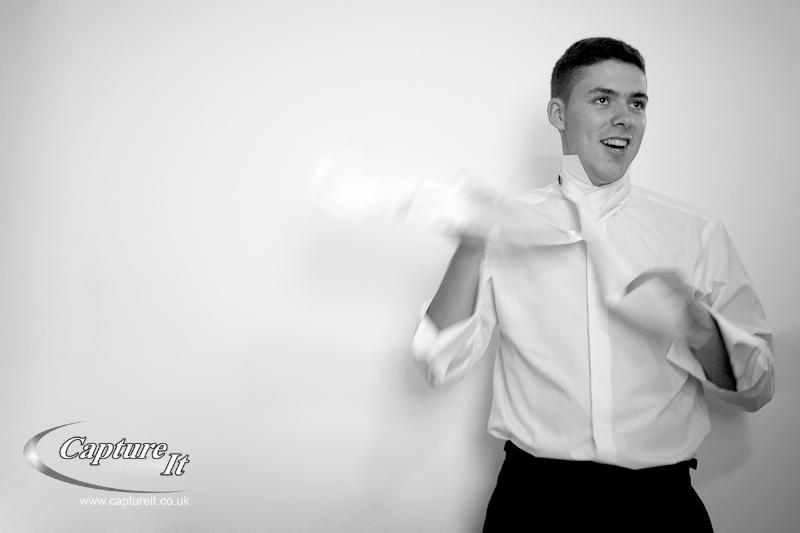 Leas Cliff Hall, Kent Wedding Photograph 3