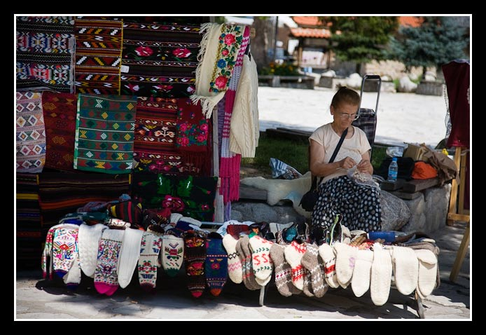 Bulgarian socks shop
