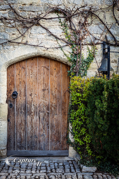 The back door in Notley Abbey