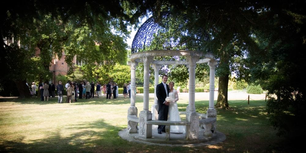 Warren House Wedding Photo