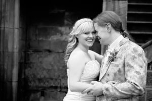 Andy and Sarah's wedding at Allerton Castle