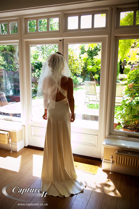 wedding photos at the Bingham Hotel
