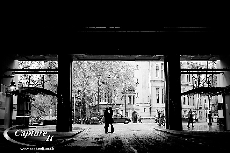 Central London engagement photograph 2
